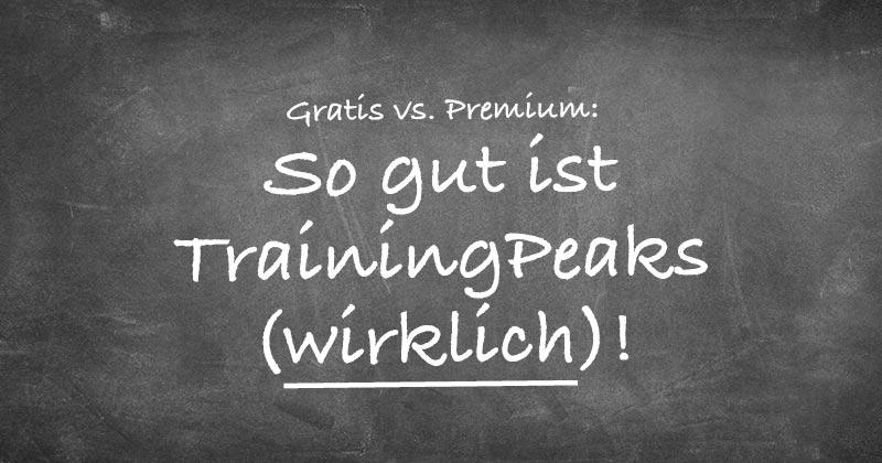TrainingPeaks im Test