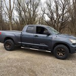 Project Tundra Gets Pimped Volk Racing Wheels Toyo Tires And A K N Intake Speed Academy