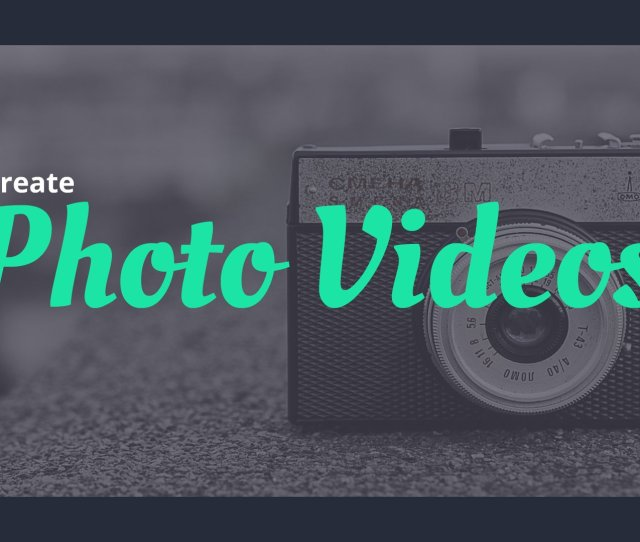 Photo Video Animated Explainer Video Software