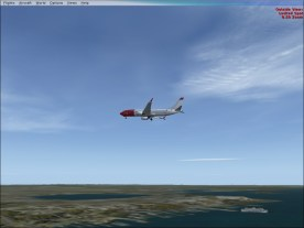 Coming in to Runway 29.