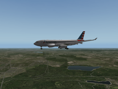 Descending into BOS for a 4R arrival.