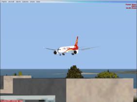 Approaching Runway 33L.