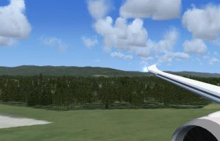 Coming into Runway 19L.