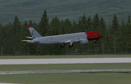 Off of Runway 1L.