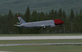 Off of Runway 1L.