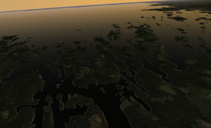 Harpswell Neck and the Islands.
