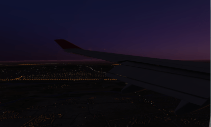 Coming into LHR early in the morning.