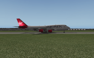 On the ground at PWM.