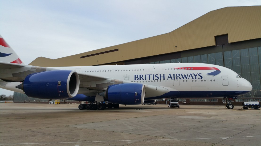 On Hold: The A380 won't be coming to Boston in February as previously planned
