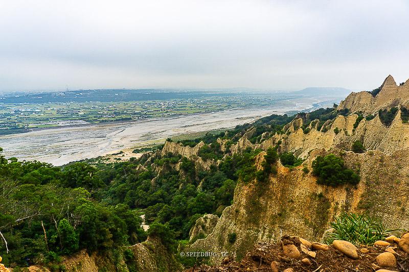 苗栗三義|火炎山自然保留區登山步道.壯麗火焰般的惡地景觀