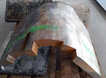 Cięcie grubej stali
