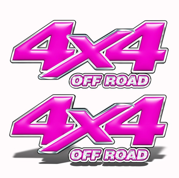 Truck 4x4 Decal Mk202OR4