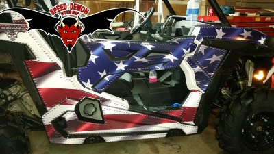 American Flag Vehicle Wraps