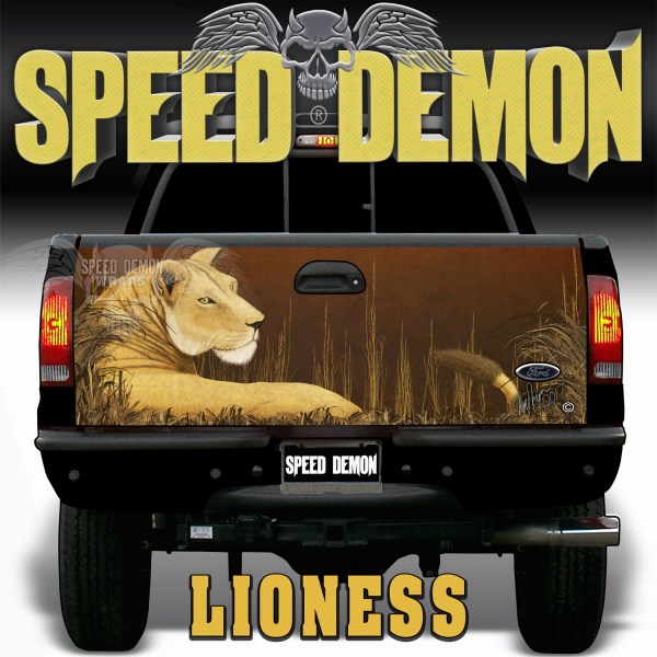 Lioness Tailgate Wraps
