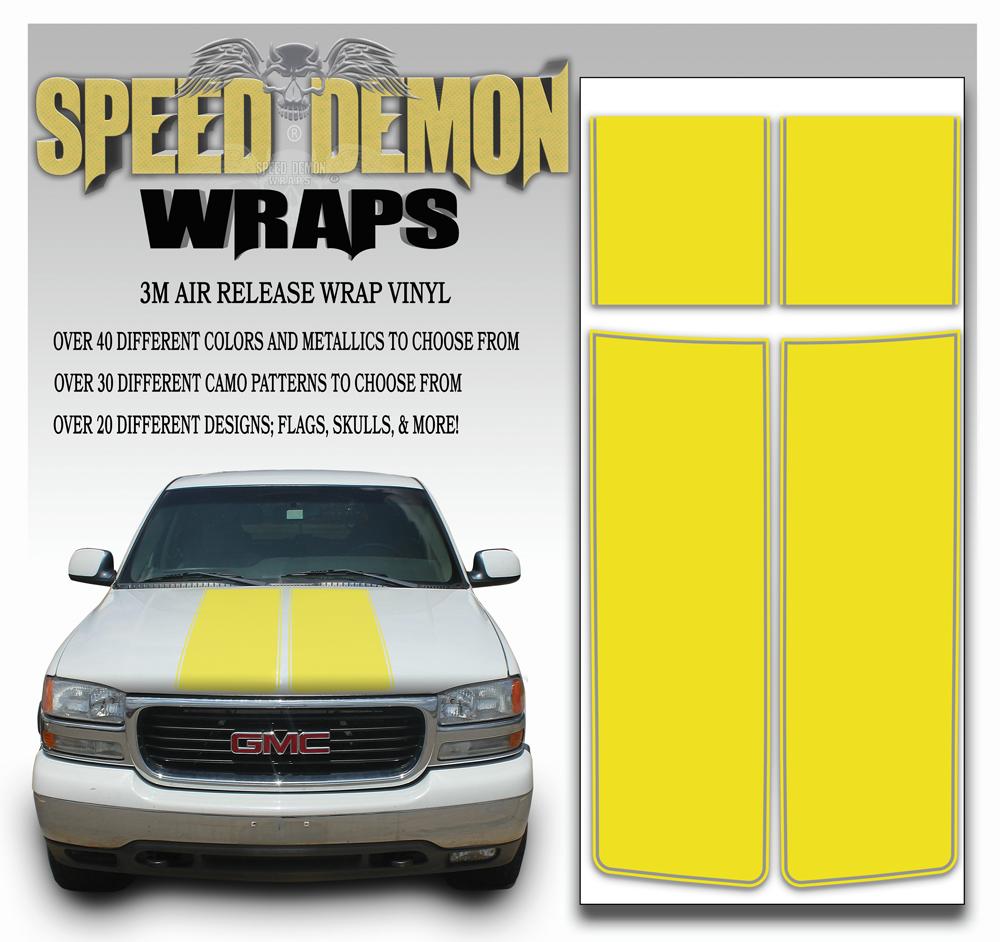 GMC Sierra Stripe Kit Yellow 2000-2006