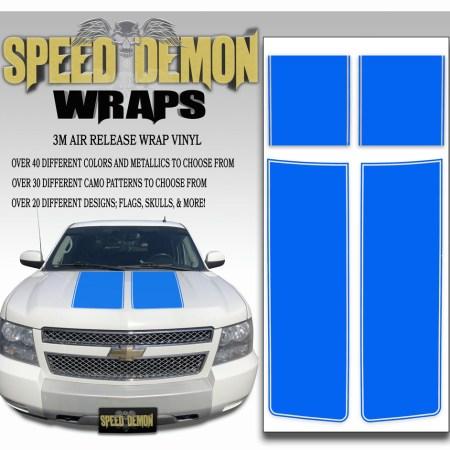 Chevrolet Avalanche Stripes Blue 2007-2013