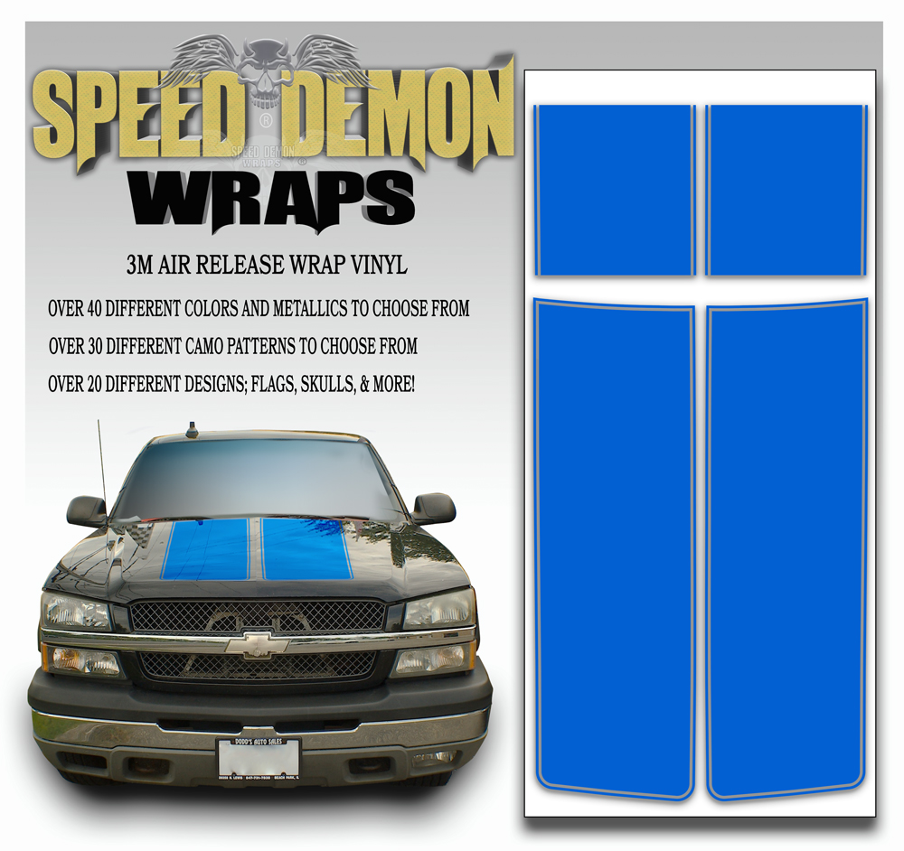 Chevrolet Truck Stripes 8