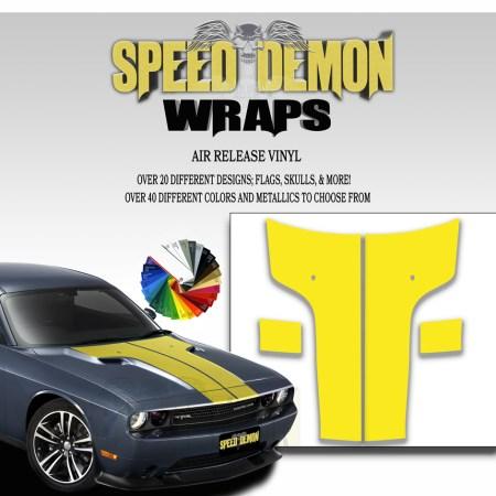 Challenger Hood T Stripe Yellow