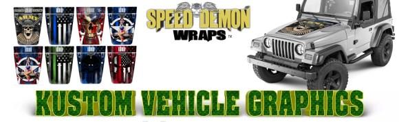 Jeep Hood Graphics