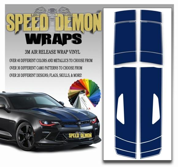 Camaro Stripes 9