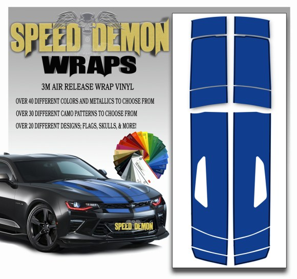 Camaro Stripes 16