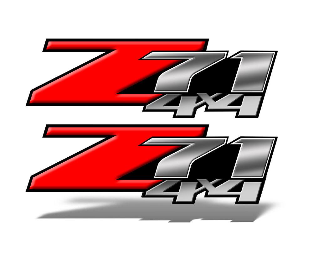 Z71 Decals 2