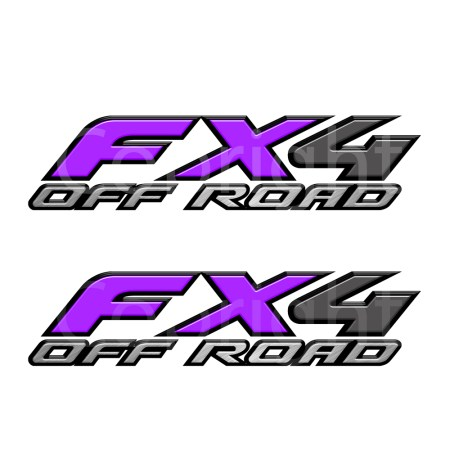 Fx4 Decals Purple