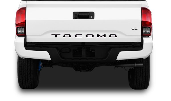 2015-2020 Toyota Tacoma TAILGATE LETTERS Ready to Install Sections