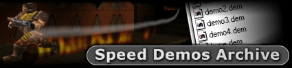 Speed Demos Archive Logo