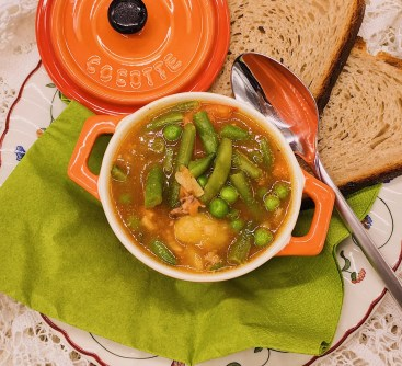 Minestra di verdure – italienische Gemüsesuppe