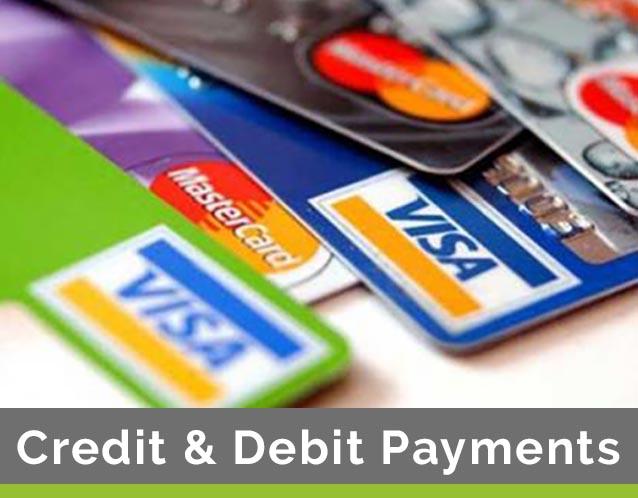 Credit & Debit Card Payments