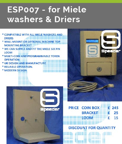 esp007 for miele washers driers