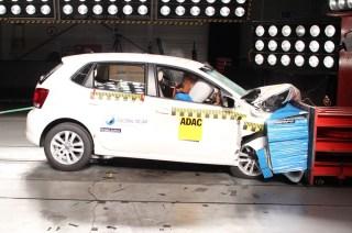vw polo crash test