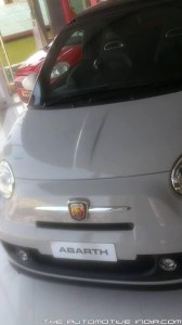 Abarth 500 front