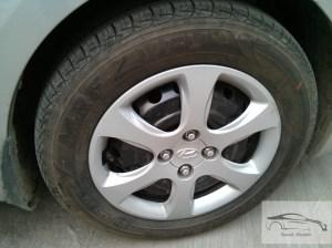 Hyundai verna CRDi 1.4 16 inch wheels