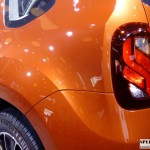 2016 Renault duster India LED tail