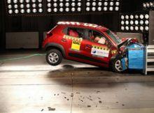 Kwid III with Airbag Global NCAP