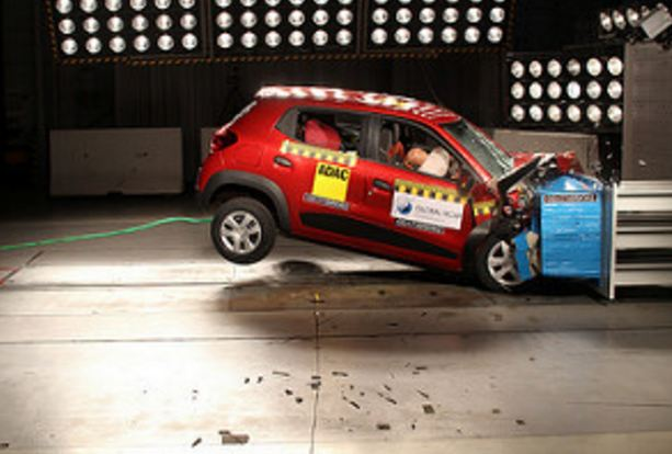 Kwid III with Airbag Global NCAP