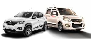 Renault Kwid vs Wagon R
