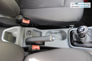 Tata Tigor Handbrake and Cup Holders