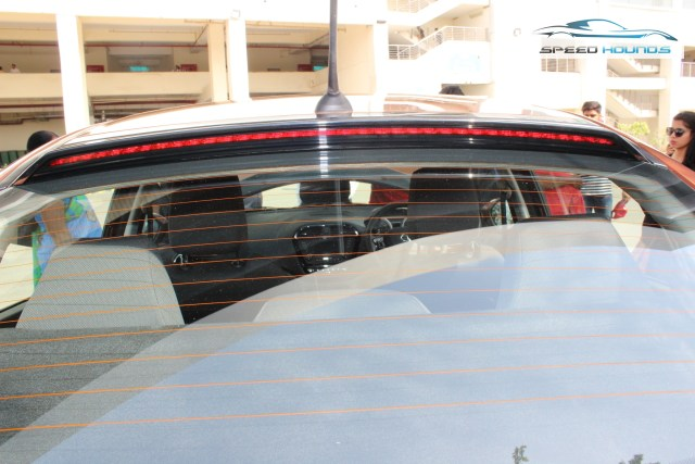 Tata Tigor Rear Spoiler LED