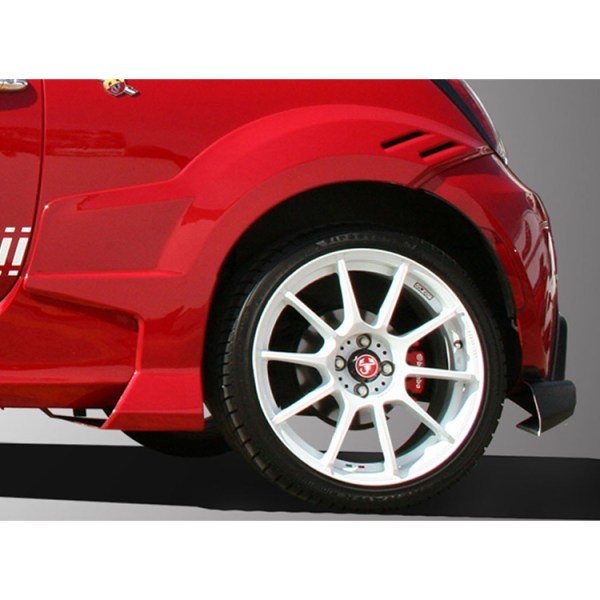 500|SPEEDLAB Fiat 500 Fender Flares Rear