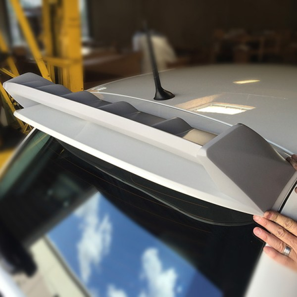 FIAT 500 Spoiler :: Fits Abarth and Turbo :: Test Fit Rear :: 500|SPEEDLAB