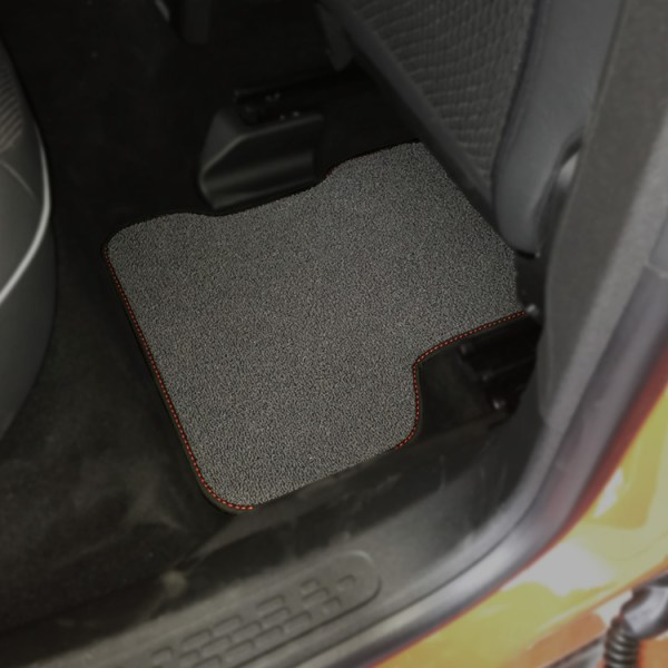 FIAT 500X Floor Mats by 500|SPEEDLAB Grey Rear