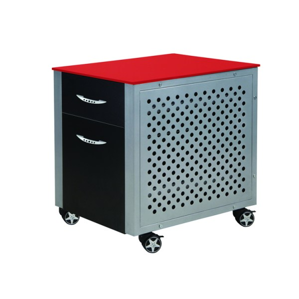 500|SPEEDLAB PitStop Furniture File Cabinet Red FC230R