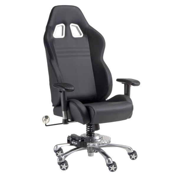 500|SPEEDLAB PitStop GT Office Chair Black GP1000B