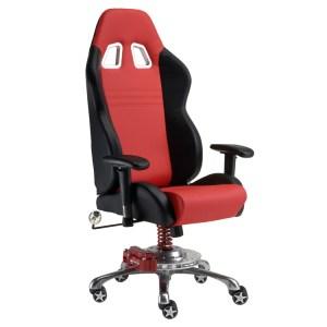 500 SPEEDLAB PitStop Furniture GT Office Chair Red GP1000R