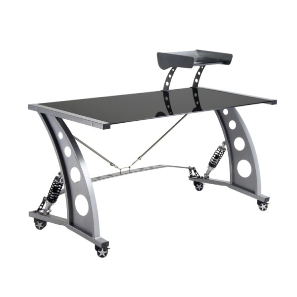 500|SPEEDLAB PitStop GT Spoiler Desk Black PFD2000B Front