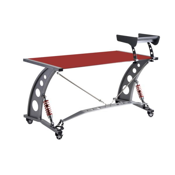 500|SPEEDLAB PitStop GT Spoiler Desk Red PFD2000R Rear
