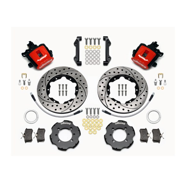 500|SPEEDLAB Wilwood Brakes 140-12768-DR Rear Kit